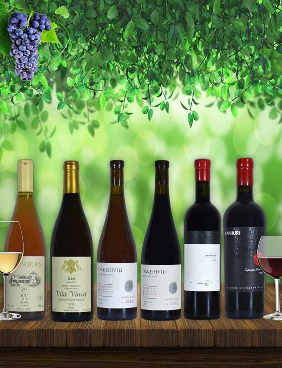 Georgian wine tasting package Premium | Ghvino.shop