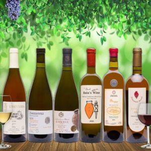 Ghvino.shop | Georgian wine tasting package Amber
