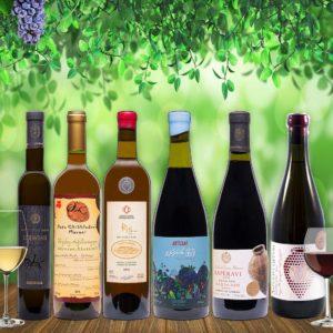 Ghvino.shop | Georgian wine tasting package Premium