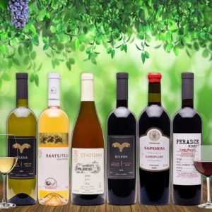 Ghvino.shop | Georgian wine tasting package Introduction