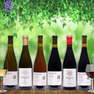 Ghvino.shop | Georgian wine tasting package Dakishvili
